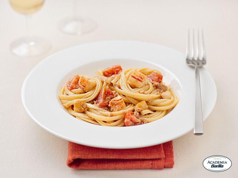 Bavette all 39 aragosta barilla le regionali ricette campane for Barilla ricette