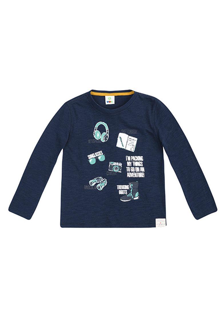 Camiseta Infantil Menino Flamê Com Mangas Longas Puc  30b42e7307855