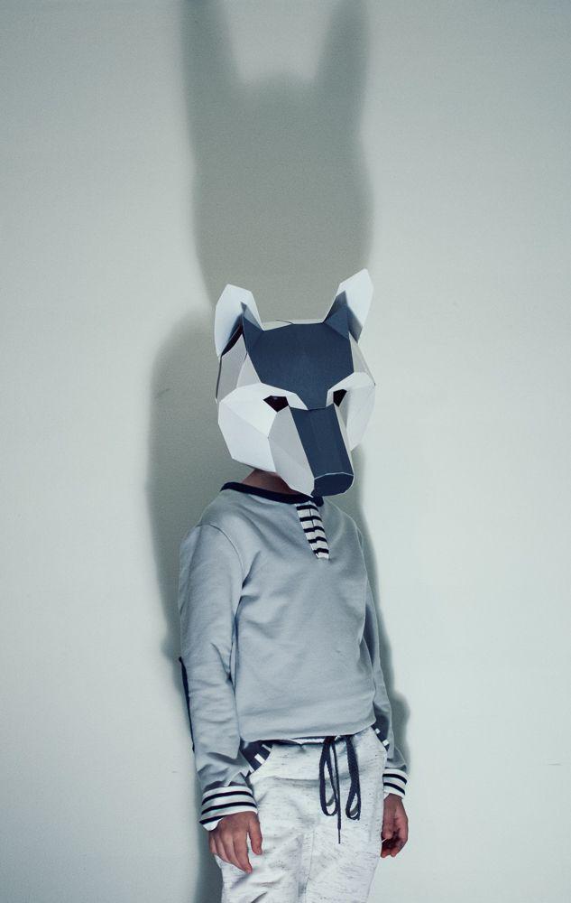 Wolf pdf wintercroft mask