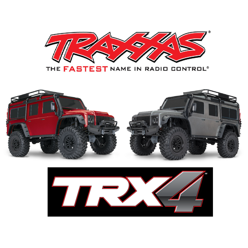 Traxxas - 1/10 Scale - TRX4 Scale & Trail Crawler Land Rover