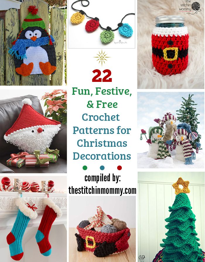 22-Fun-Festive-and-Free-Crochet-Patterns-for-Christmas-Decorations ...