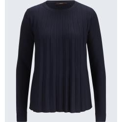 Photo of Pullover mit Plisséefalte in Navy windsorwindsor