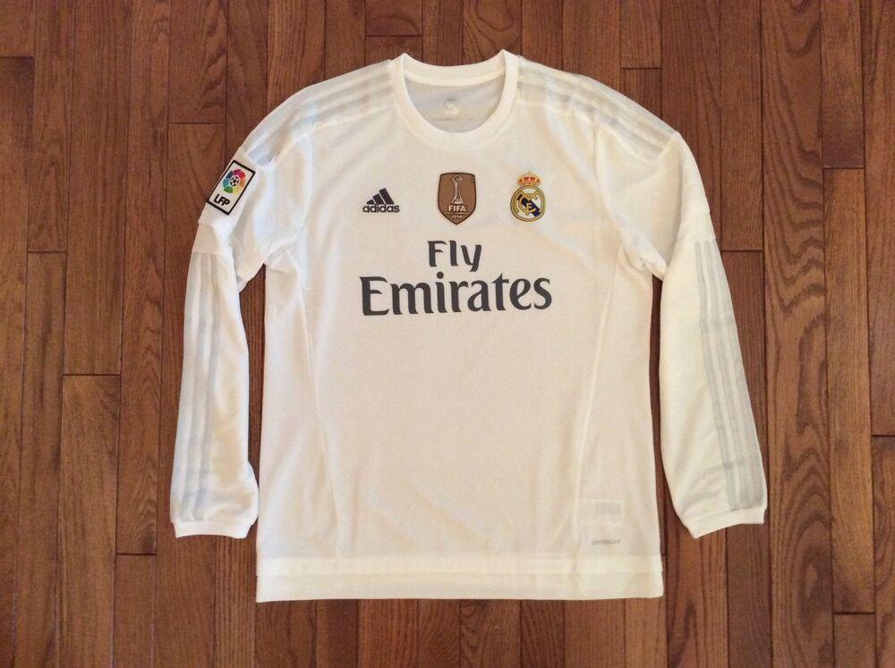 timeless design 64446 c514d eBay #Sponsored adidas Cristiano Ronaldo Real Madrid Long ...