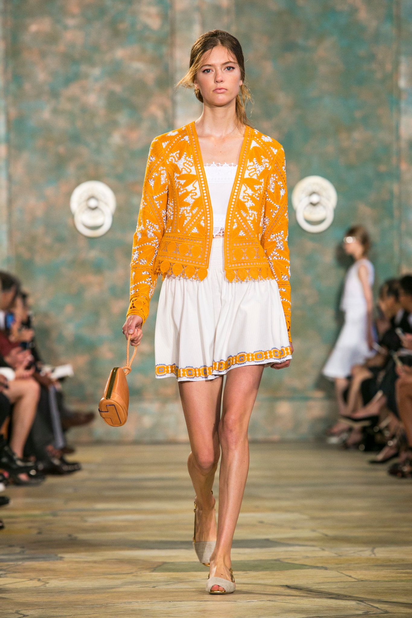 862bc90e336 A look from Tory Burch s spring summer 2016 show at New York Fashion Week.  (Photo  Gio Staiano Nowfashion)