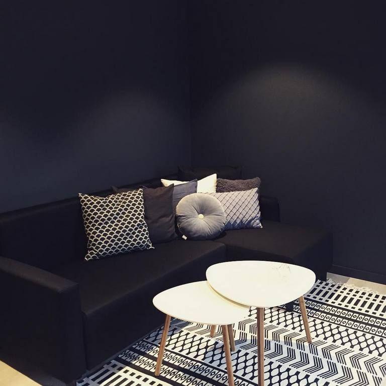 Sofa Minimalis Untuk Ruang Tamu Kecil Ikea Murah Dengan Meja Unik