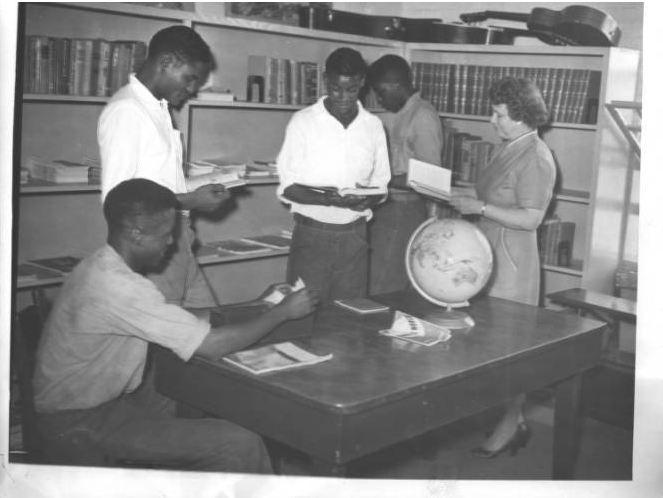 May Memorial Library bookmobile visits Alamance County