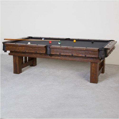 Cheyenne Weathered Wood Pool Table Pool Table Billiard Pool