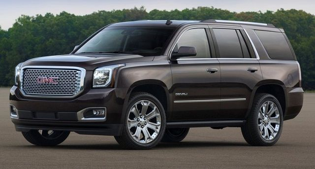 2016 GMC Yukon Denali front Top Suvs 2016 Pinterest