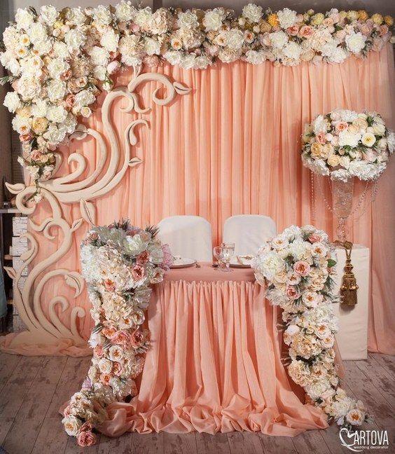 Luxury Wedding Ideas: Top 20 Luxury Sweetheart Table Decor Ideas