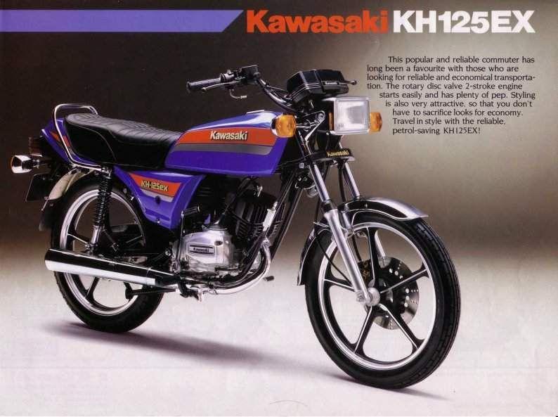 Kh 125fx 1982 2000 Kawasaki Motorcycle Manufacturers Gto