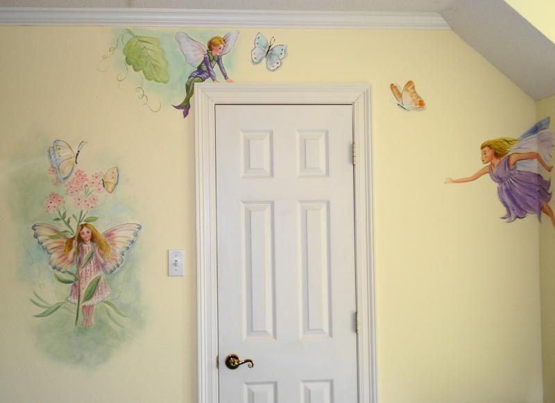 more fairy nursery ideas Nursery Pinterest Fairy nursery