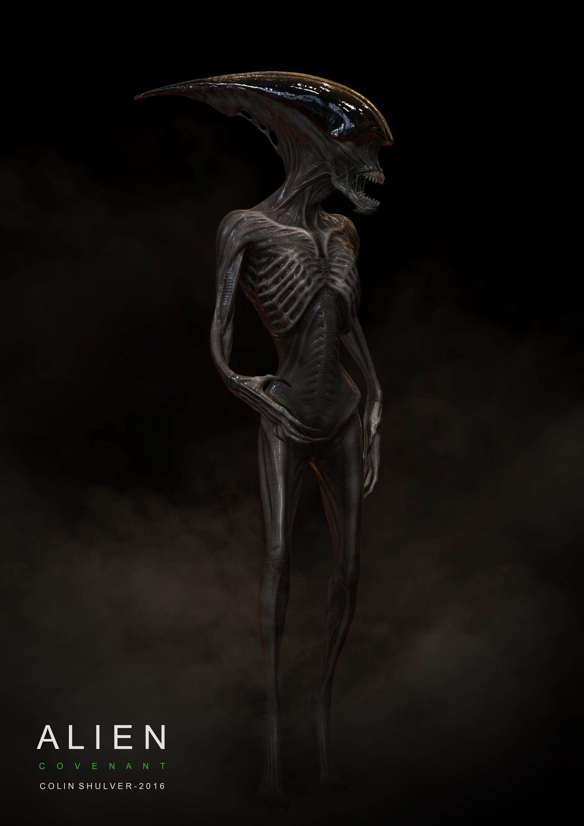 Early Predator Concept Art