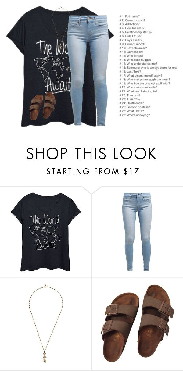 """""""Ask me questions ❤️😊"""" by katherinecat14 ❤ liked on Polyvore featuring Levi's, Isabel Marant, Birkenstock and plus size clothing"""