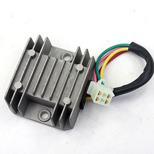 384995d48bc1606d6ea91d2e0d110644 best price on wings rectifier regulator 4 wires voltage atv gy6 50