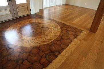 Round Wood Floor Flooring