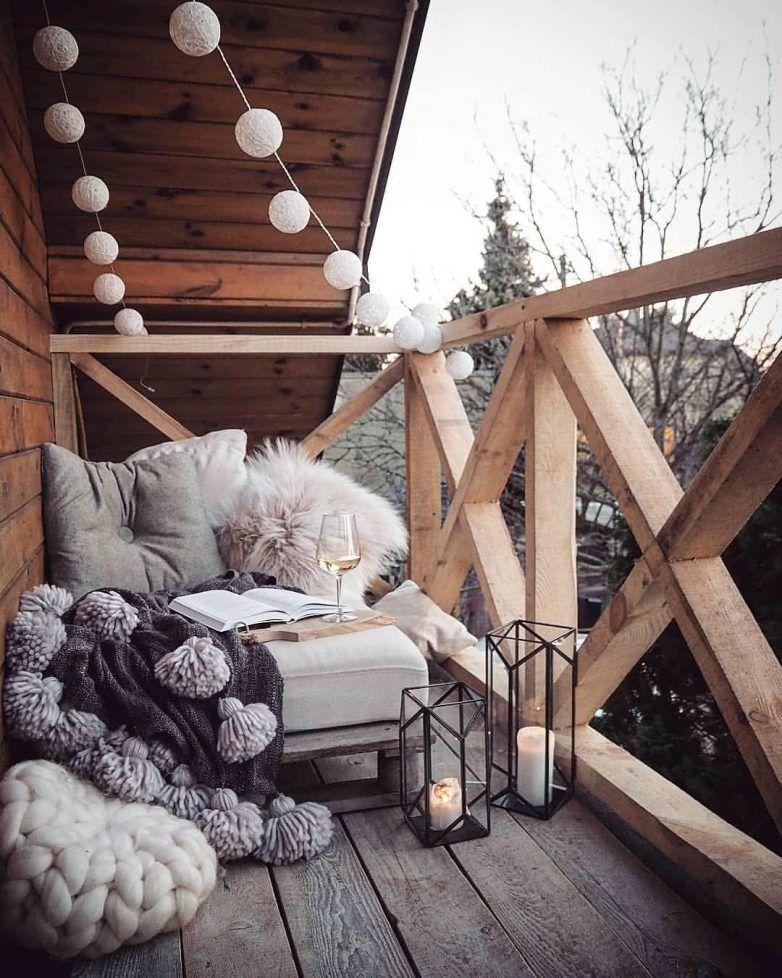 Photo of Maravillosas ideas de decoración de invierno para balcones y patios.