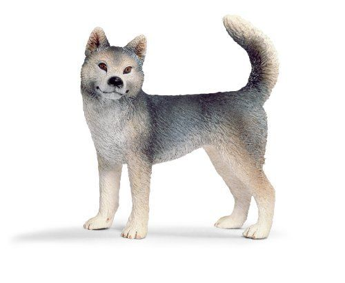 Schleich Husky Female by Schleich. $6.14. Fun Fact: Huskies can have one brown eye and one blue eye.. Zoological Name: Canis familiaris. 1.2 in L x 2.8 in W x 2.8 in H. With thick and coarse hair, these canines can be seen in hues of brown and black. Throughout history, Huskies have been recognized over and over again, reaching more and more popularity, especially as an Arctic breed. From sled dogs to search and rescue teams, Huskies now make great pets. Keeping i...