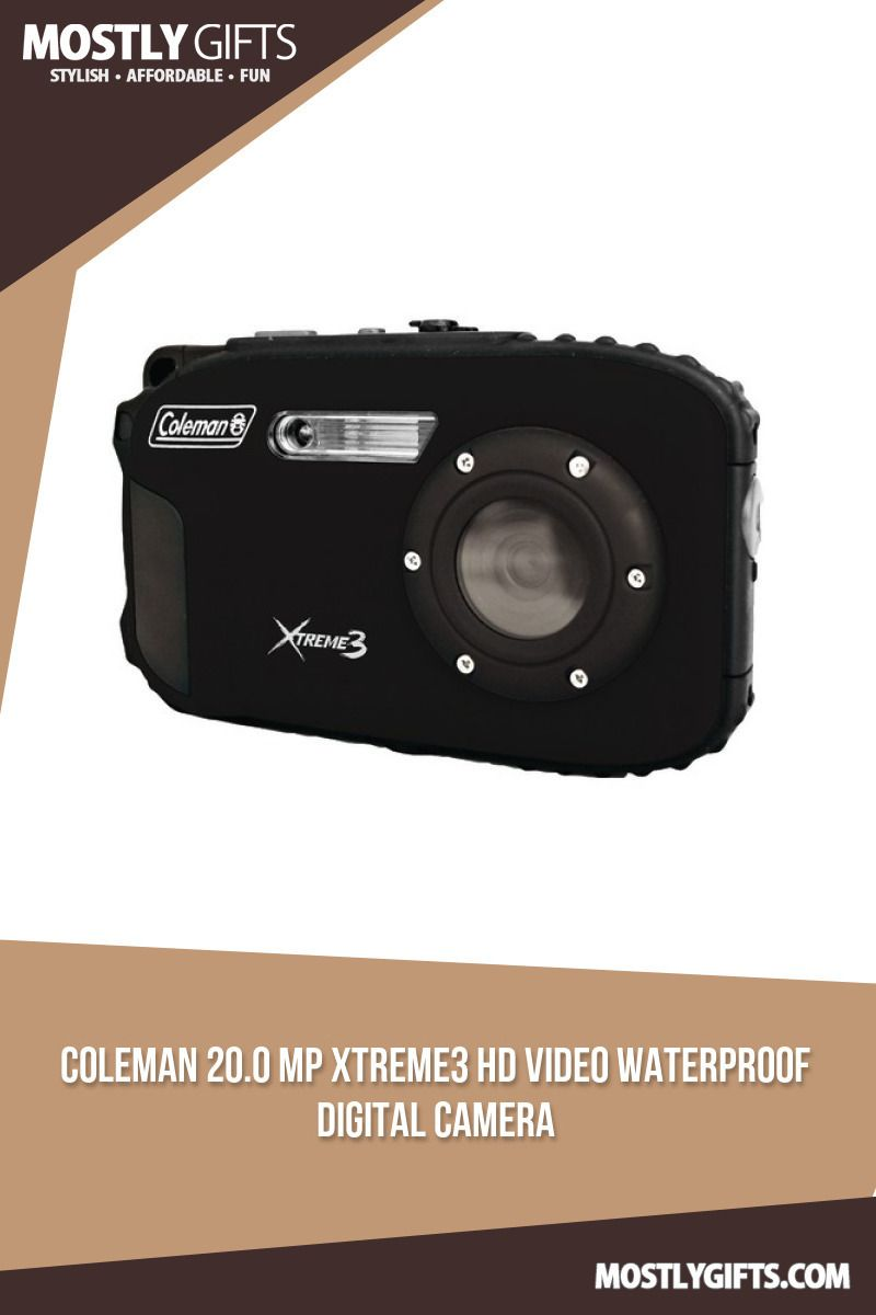 coleman 20.0 megapixel xtreme3 hd and video waterproof digital