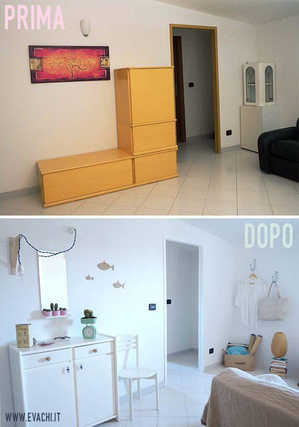 Photo of Un piccolo soggiorno di una casa vacanza al mare _ A little living room, Holiday…