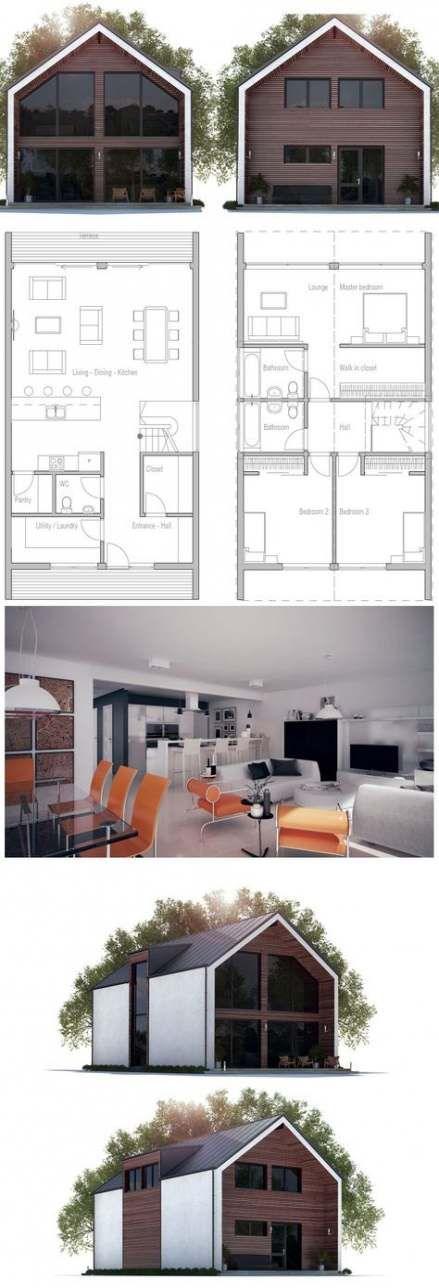 New Home Decored Ideas Bedroom Kids House Plans 30 Ideas Facade House House Layouts Small House Plans