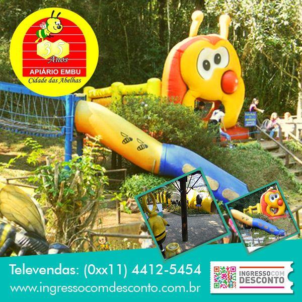Você conhece o Apiário Cidade das Abelhas em Embu das Artes - SP? Não? Então venha conhecer: www.ingressocomdesconto.com.br Televendas:(0xx11) 4412-5454
