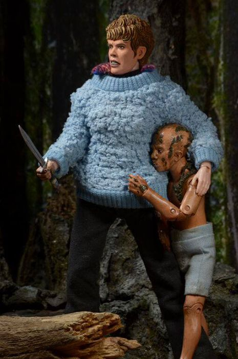incredibly detailed friday the 13th pamela and jason voorhees toys