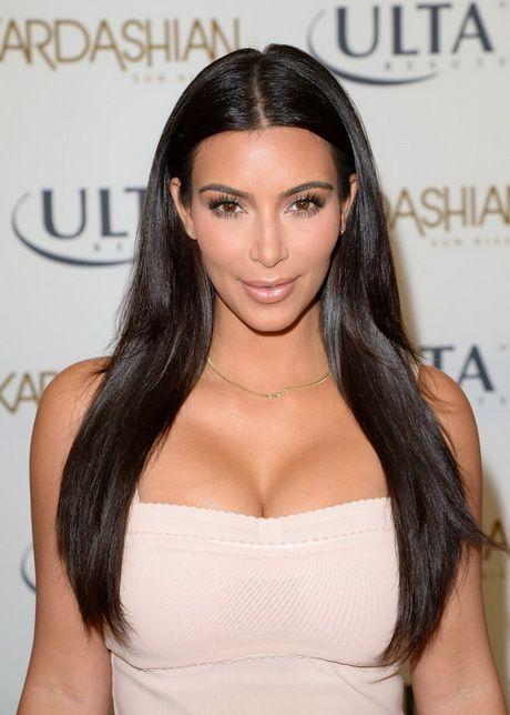 Kim Kardashian Frisur #frisur #kardashian Kim Kardashian