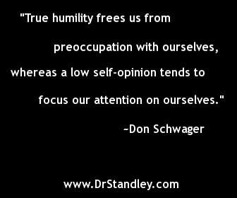 Humility and Low Self-Esteem Quote