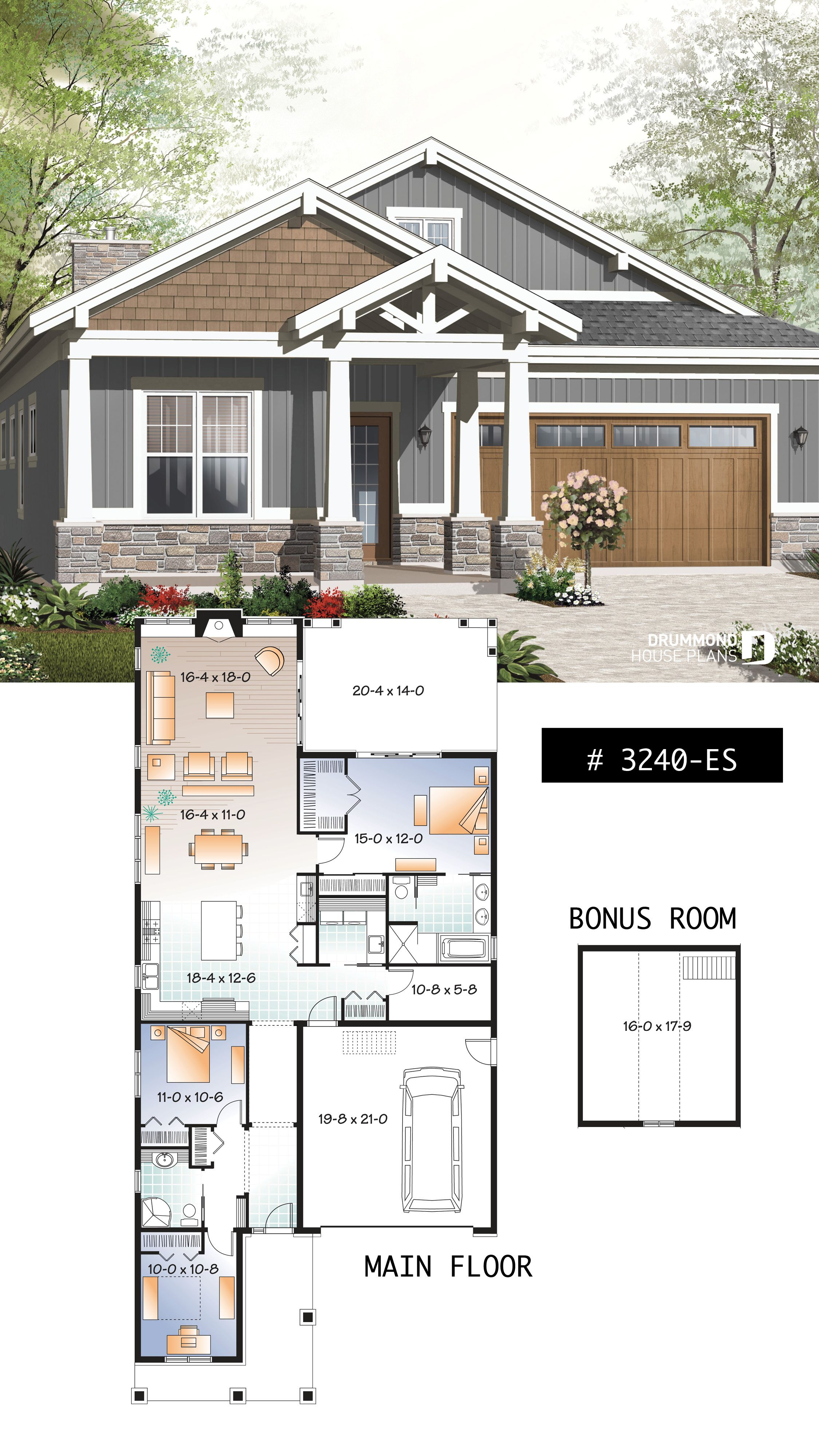Discover The Plan 3240 Es Northaven Which Will Please You For