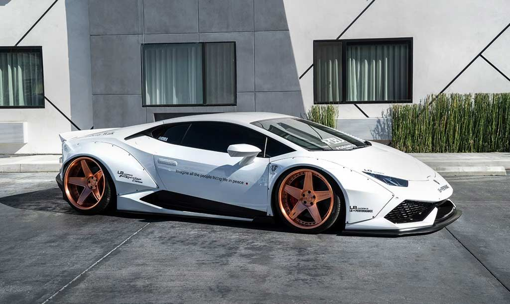White Liberty Walk Lamborghini Huracan On Forgiato Wheels | Automotive99.com