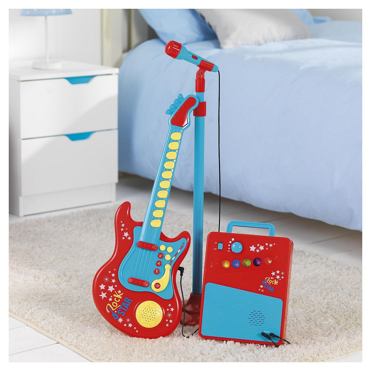 Tesco direct  Carousel Red Rock Star Guitar   toys   Pinterest ... 742372b527