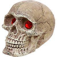 Penn Plax Skull Gazer with Jewel Eyes Aquarium Ornament