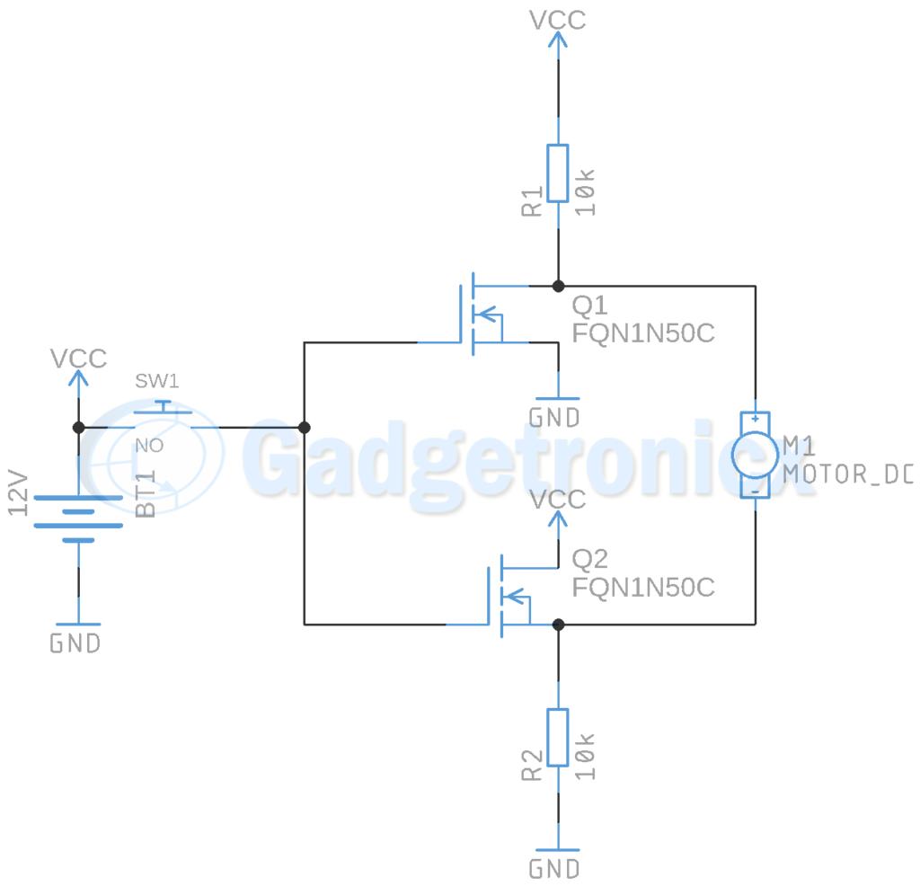 Switching Circuit Using Mosfet