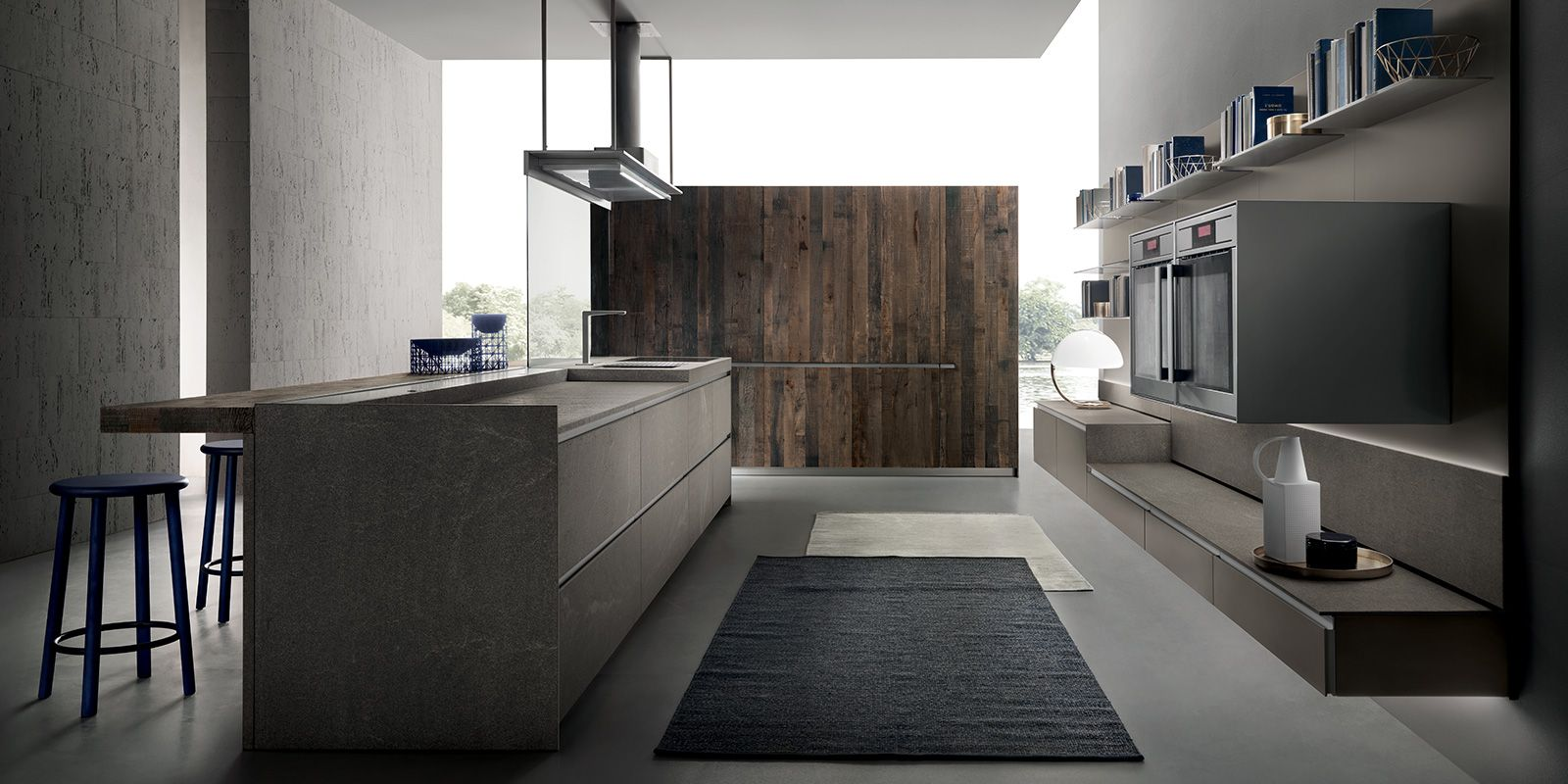 italian modern design kitchens - icon by ernestomeda | kitchens ... - Ernestomeda Barrique