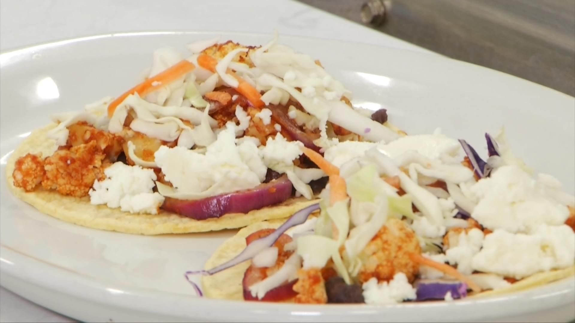 Michelle Cooks: Chipotle-Lime Cauliflower Tacos - 9 & 10 News