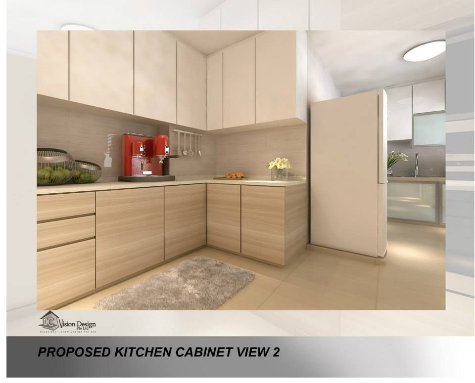 Similar Colour Scheme But Somehow Doesn't Look That Nice P Inspiration Wet Kitchen Design Decorating Design