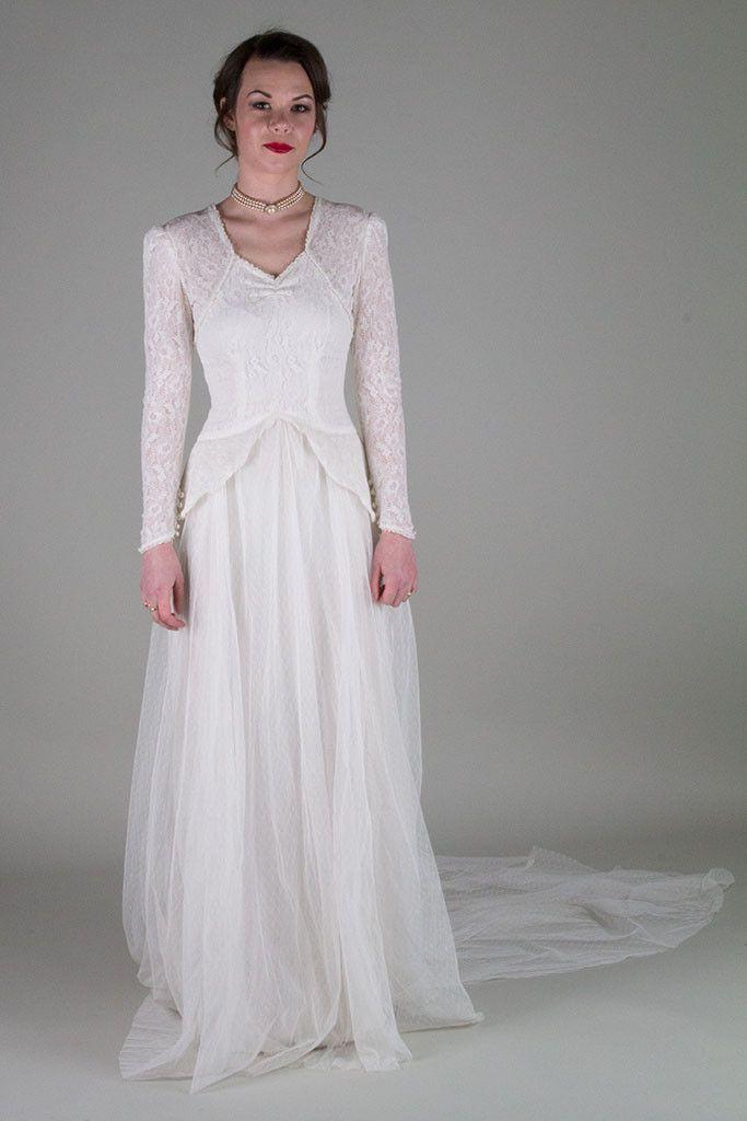 1000  images about Vintage Wedding Dresses on Pinterest  Gina ...