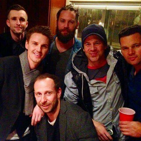 Christian 12/31/14 w/his friends
