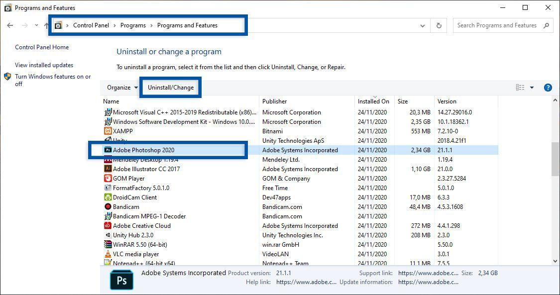 7 Cara Uninstall Aplikasi Di Windows 10 8 7 Sampai Bersih Total Windows 10 Windows Tips