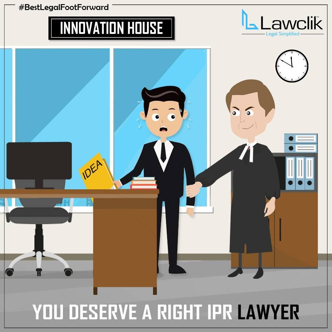 You Deserve A Right Ipr Lawyer Lawclik Covers All Your Legal