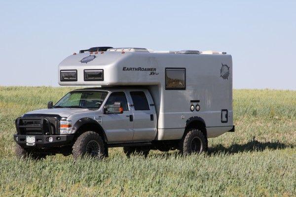 earthroamer camper explorer truck