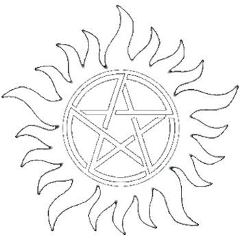 Supernatural Symbol Drawings