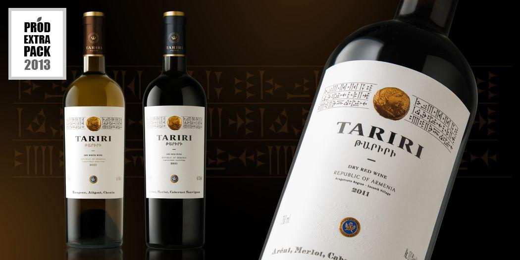 Tariri Wine, ProdExtraPack 2013 Designed by LINEA