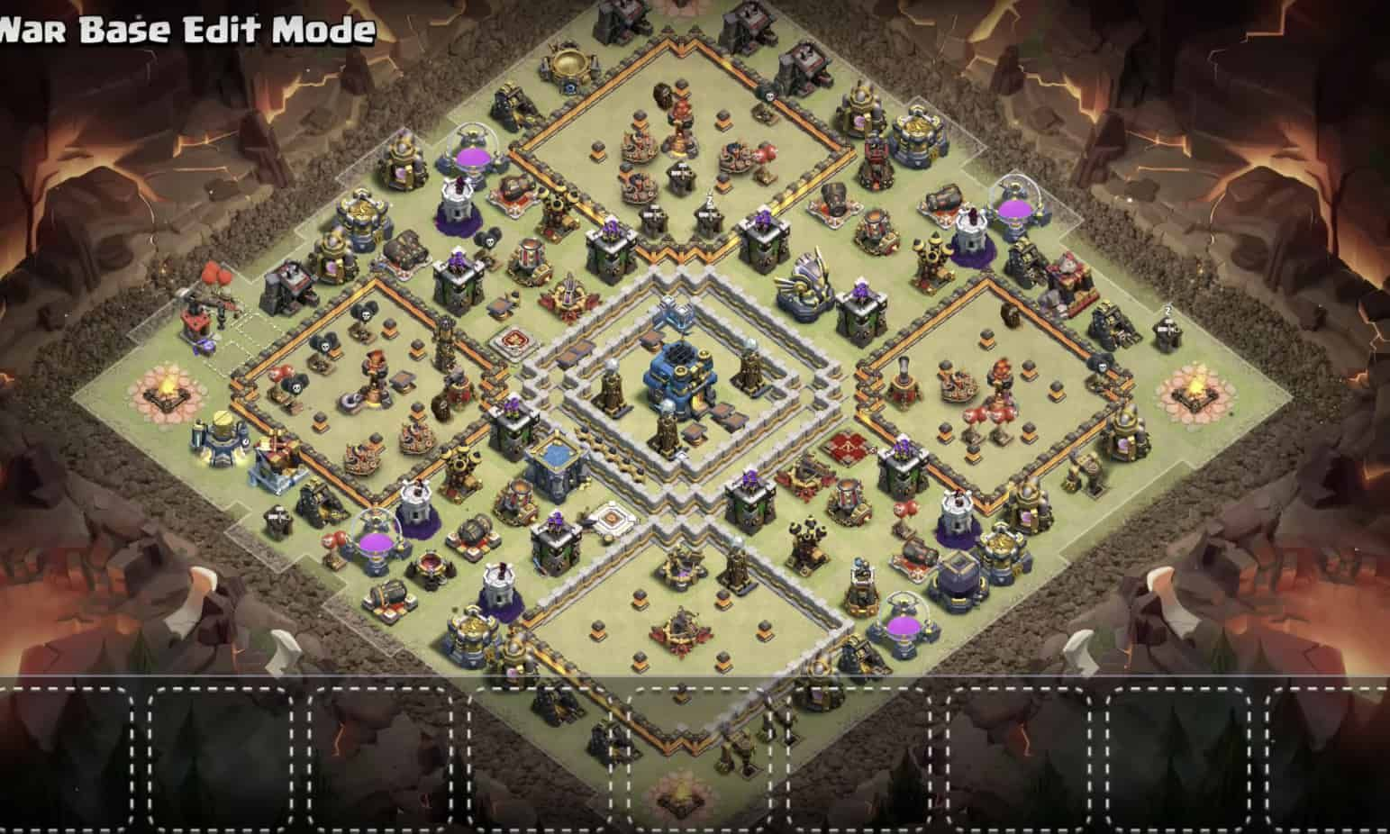 Best Coc Th 12 War Base 1