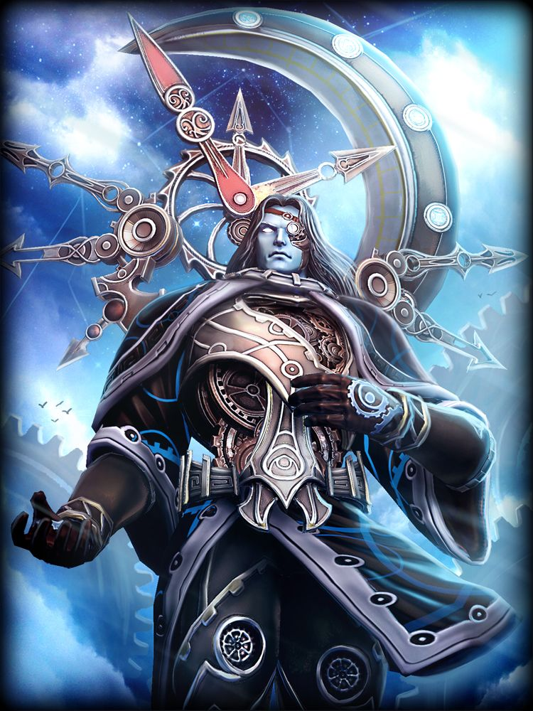 Smite Chronos Time Lord Greek And Roman Mythology Character Art Fantasy Characters