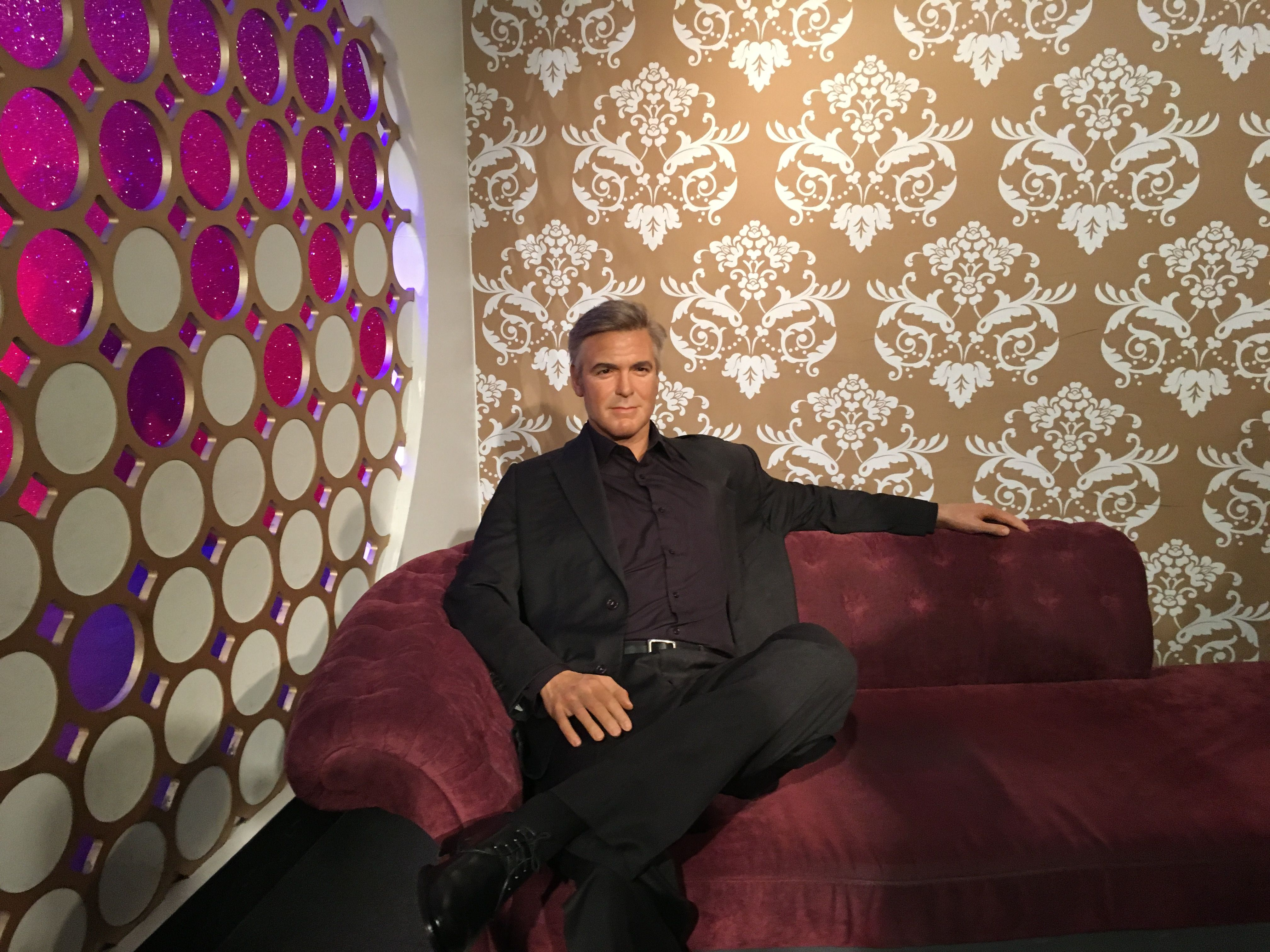 George Clooney at Madame Tussauds London