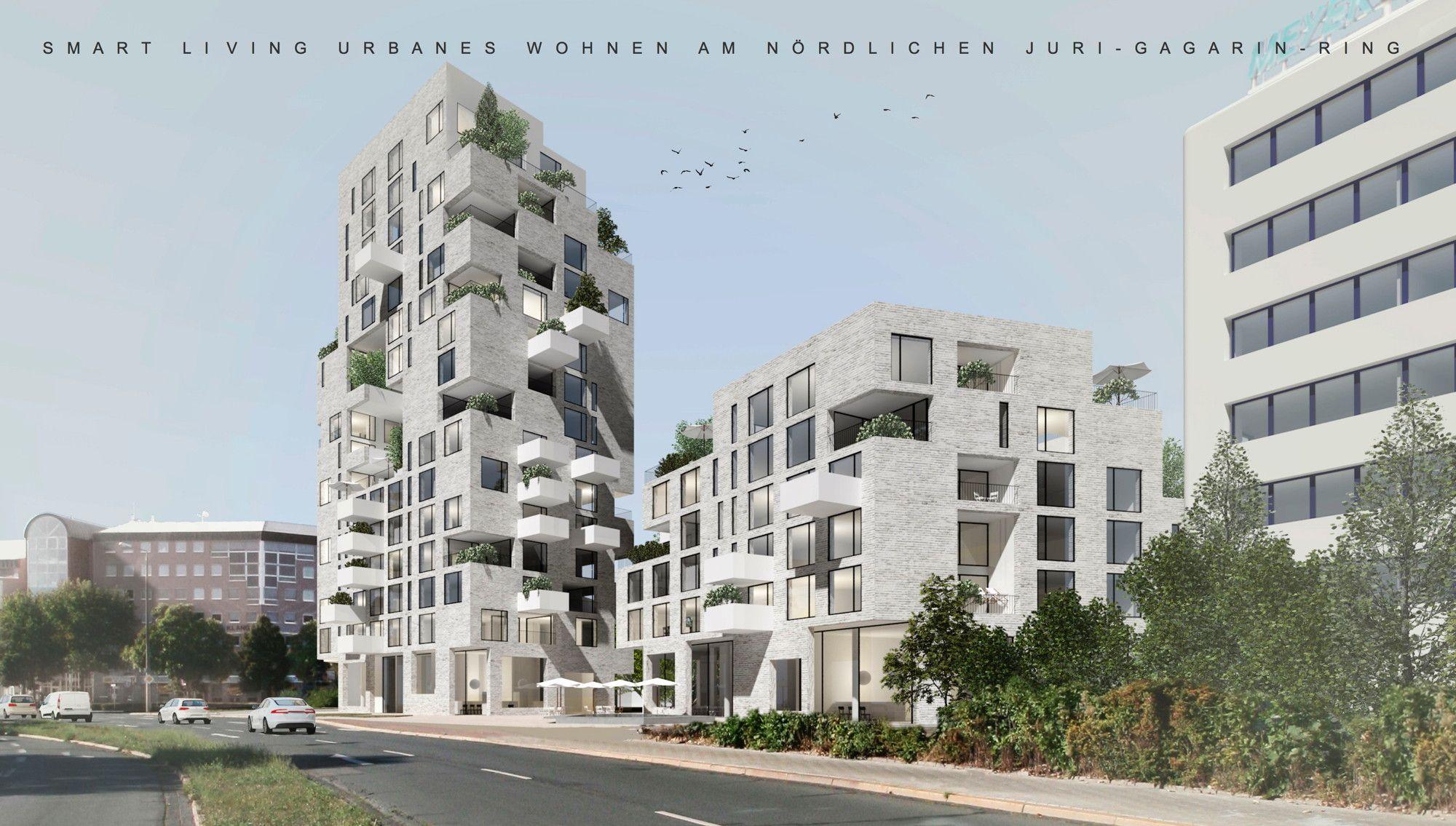 Ein Bis Zwei Hochhäuser Wettbewerb In Erfurt Entschieden Erfurt - Minecraft hochhauser