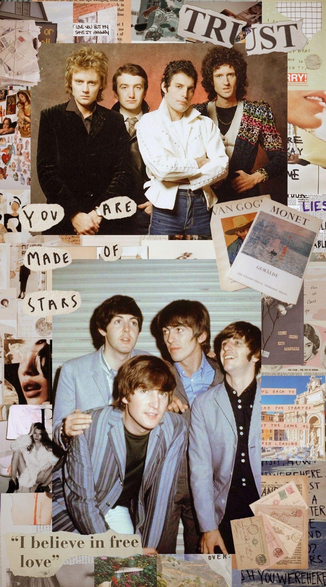 Pin by Bryn B Bergwall on The Beatles Beatles wallpaper