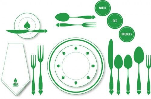 Thanksgiving Table Decor Round-Up {2012 | Table setting diagram ...