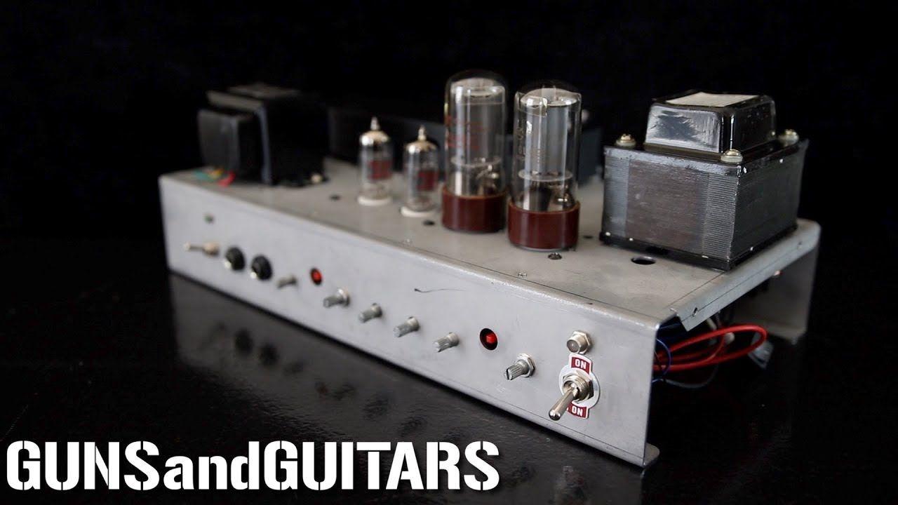 Build you own tube amp kld diy 15w tube amp kit review